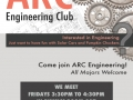 American River College Engeneering Club Poster