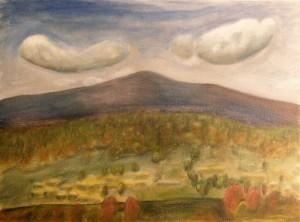 Mount Hermon Painting