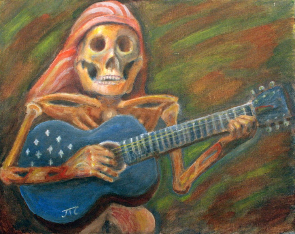 Rock On painting by Jason Campbell