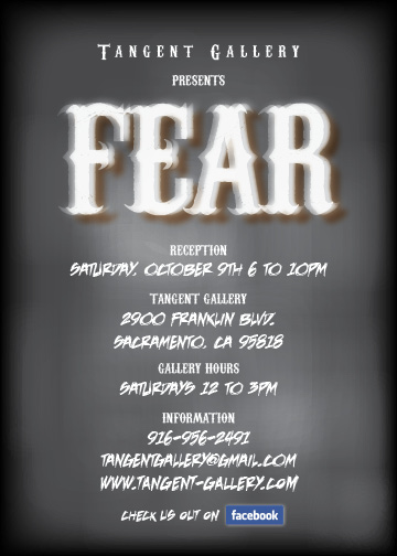 Fear at the Tangent Gallery