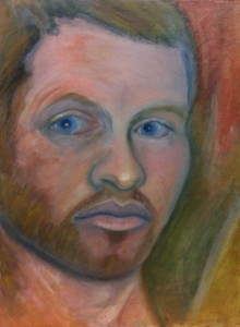 """Self Portrait"" a painting by Jason Campbell"