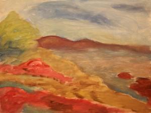 Moneterey Bay Painting Step 1
