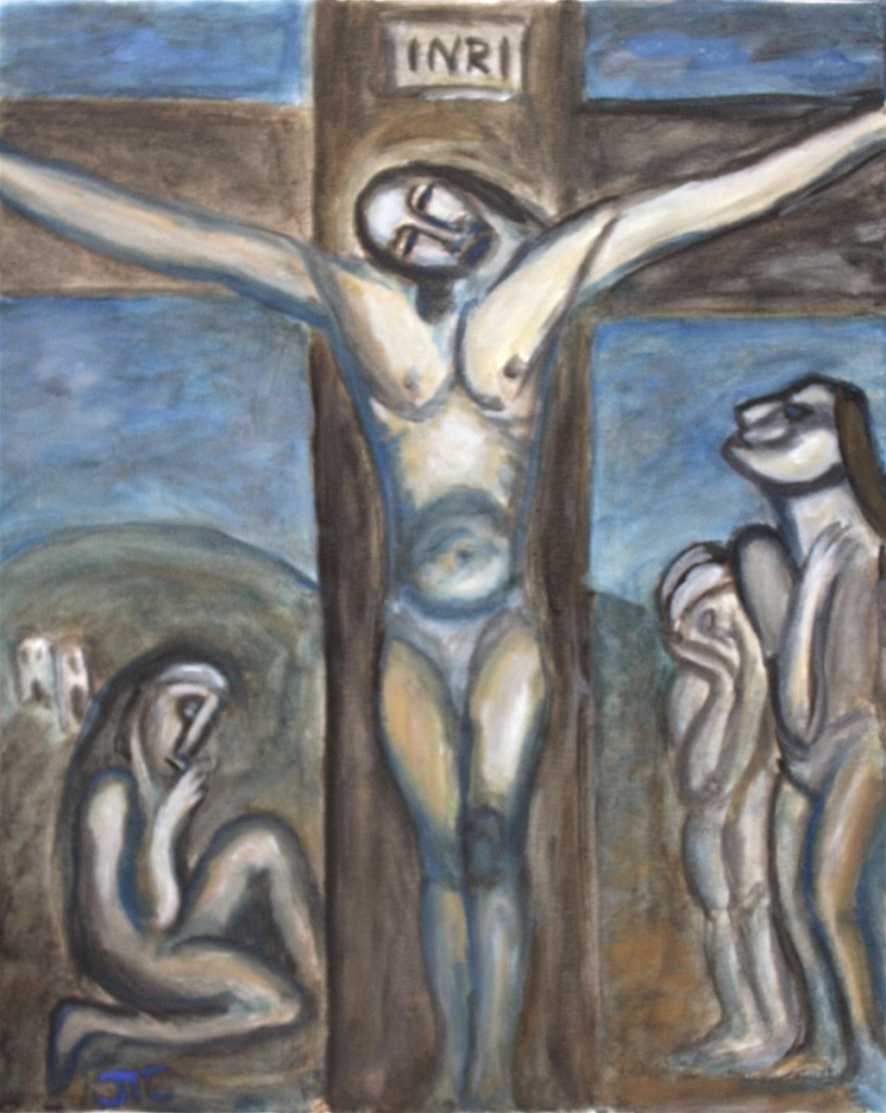 """Jason T. Campbell - Remake of """"Love One Another"""" by Georges Rouault"""