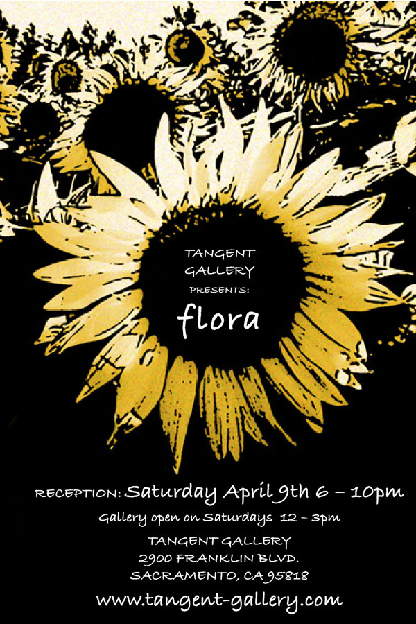 Flora at the Tangent Gallery
