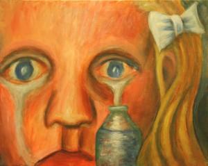 """""""Tears"""" by Jason Campbell - acrylic on canvas"""