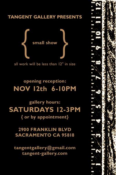 Tangent Gallery Flyer Image