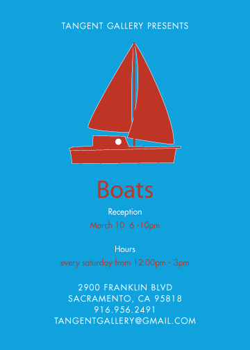 "Tangent Gallery Show ""Boats"""
