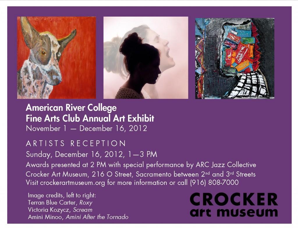ARC 2012 Student Show at the Crocker Art Museum