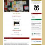 Umoja Website Screen Shot Home Page