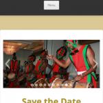 Umoja Website Screen Shot Home Page Mobile