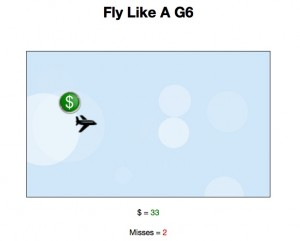 HTML5 Airplane Game