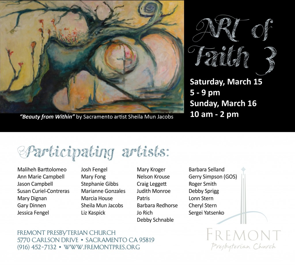 Art of Faith 2014 Flier