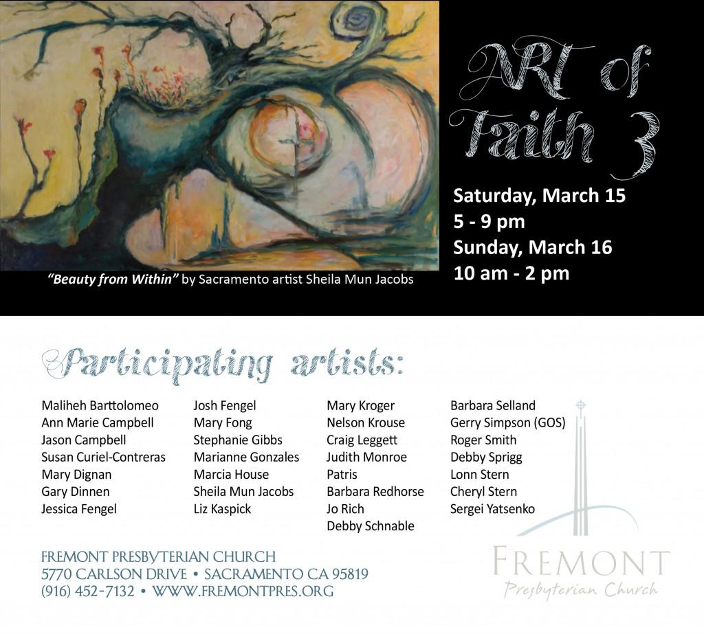 Art of Faith 2014 Flier