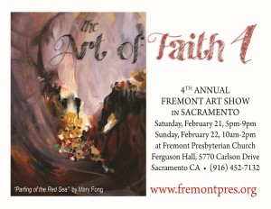 The Art of Faith 4 - Art Show Flyer