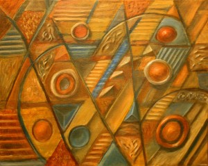 Jason Campbell Abstract Composition 2