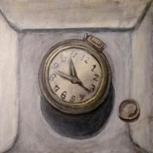 Broken Watch Painting