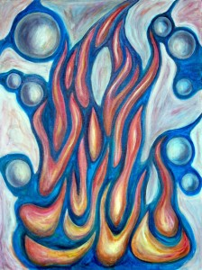 Guiding Flame Painting