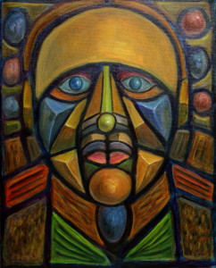 Preist - Cubist Painting