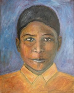 Mushar Boy Painting by Jason Campbell