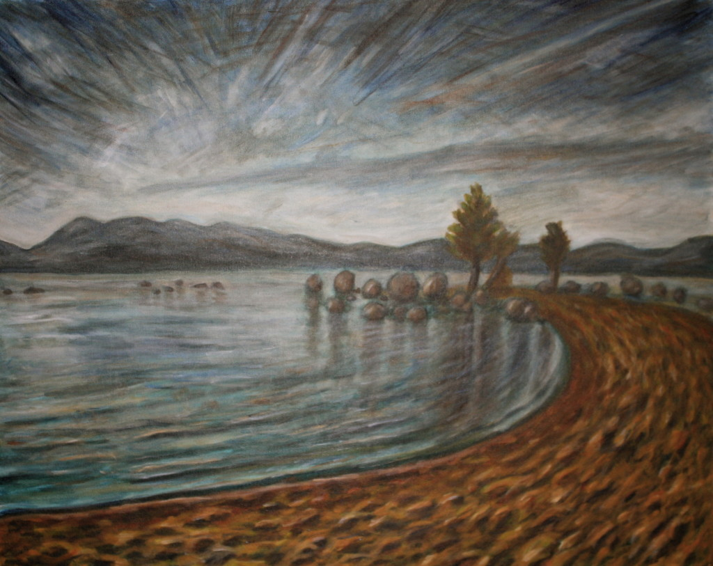 Lake Tahoe Peninsula - Landscape Painting
