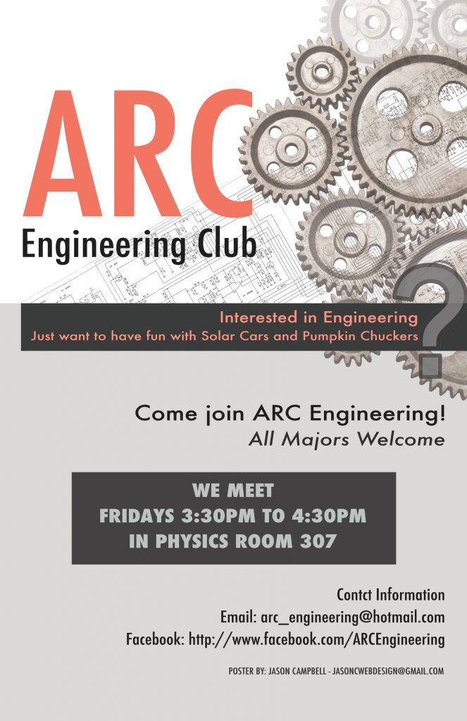 ARC Engineering Club Poster Design