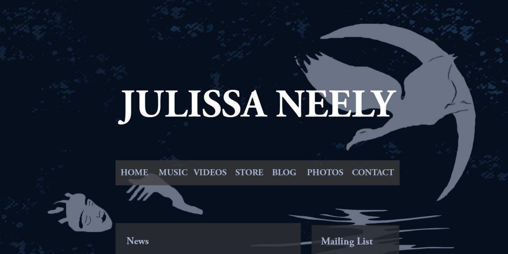 Musician Website Mock Up