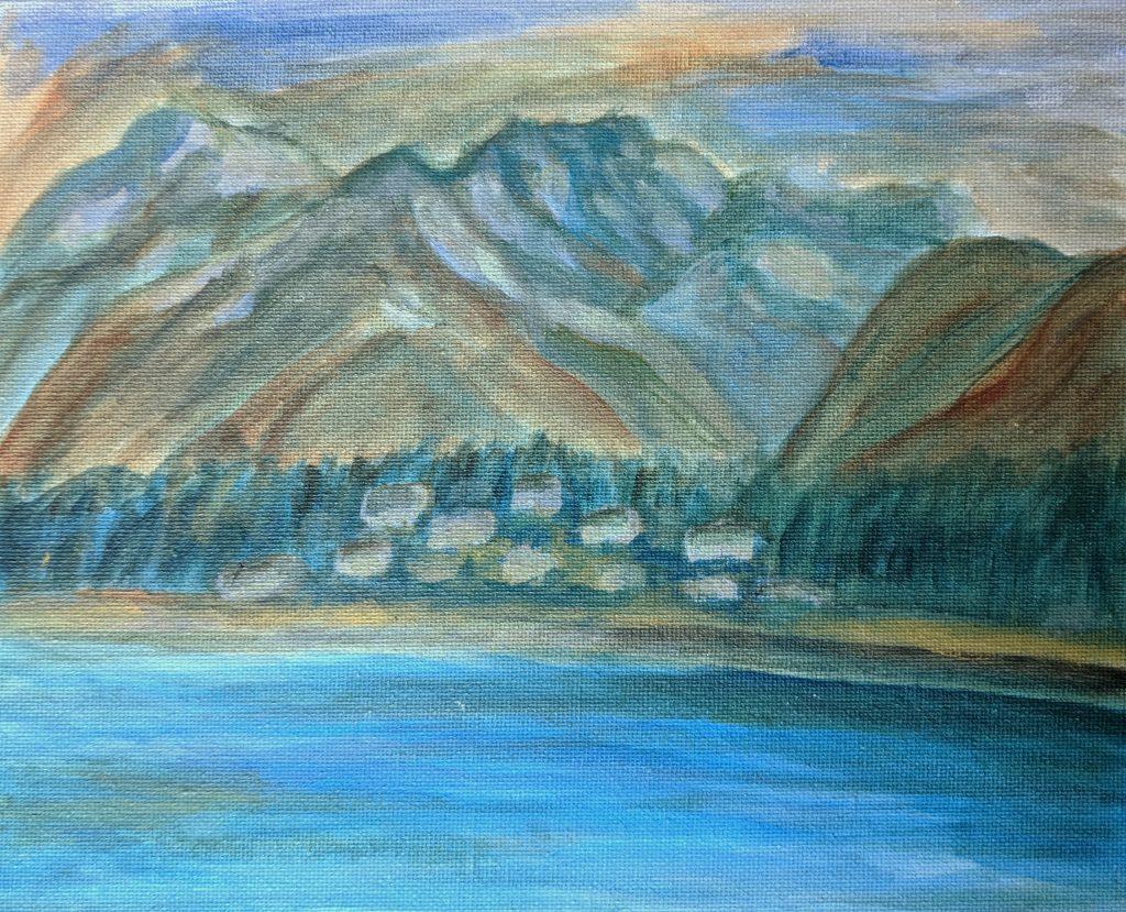 haines alaska painting