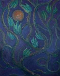 Mystic's Garden Painting