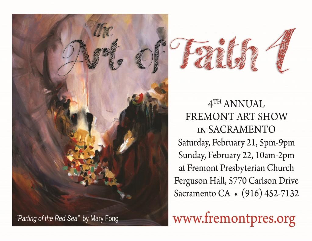 The Art of Faith 4 - Art Show Flyer