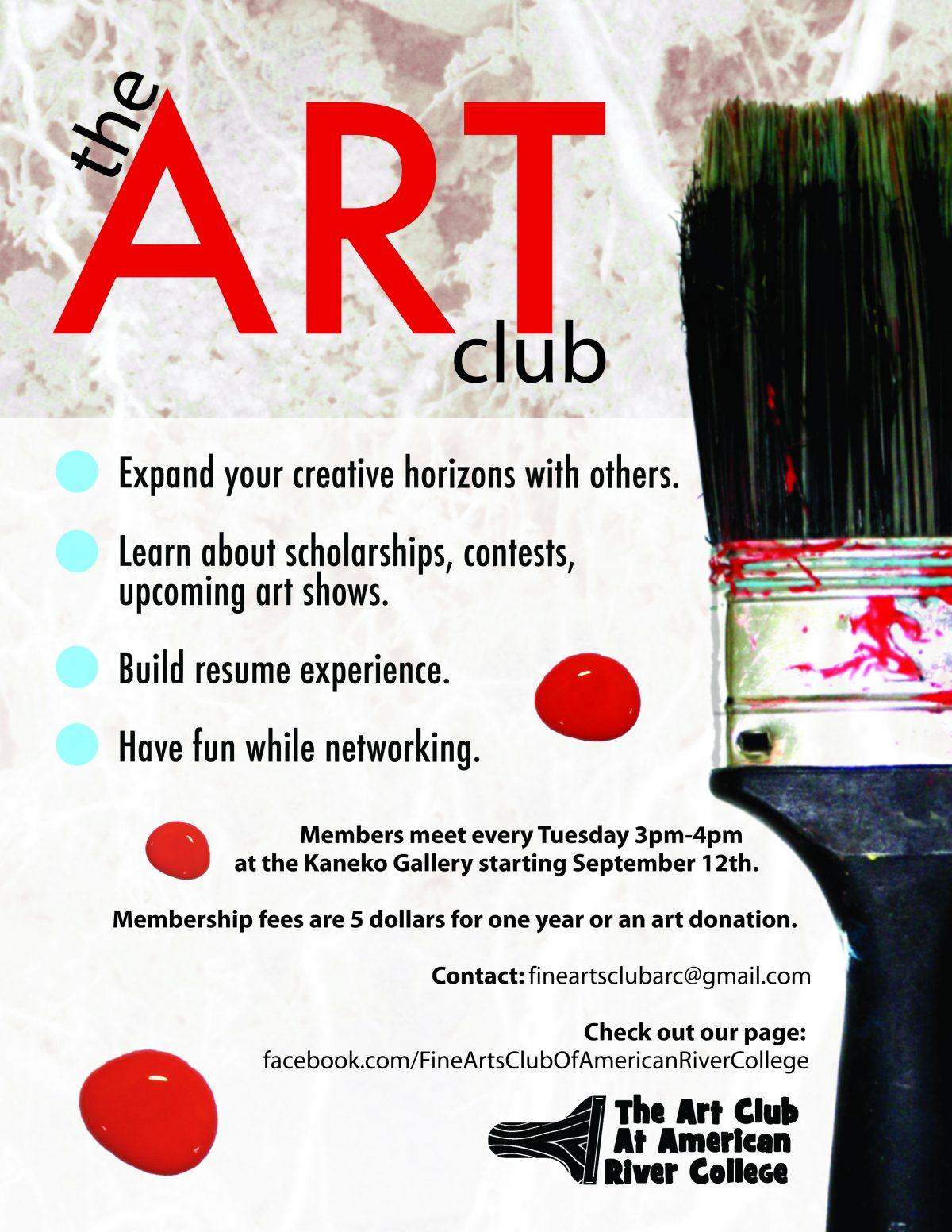 ARC Art Club Poster Design