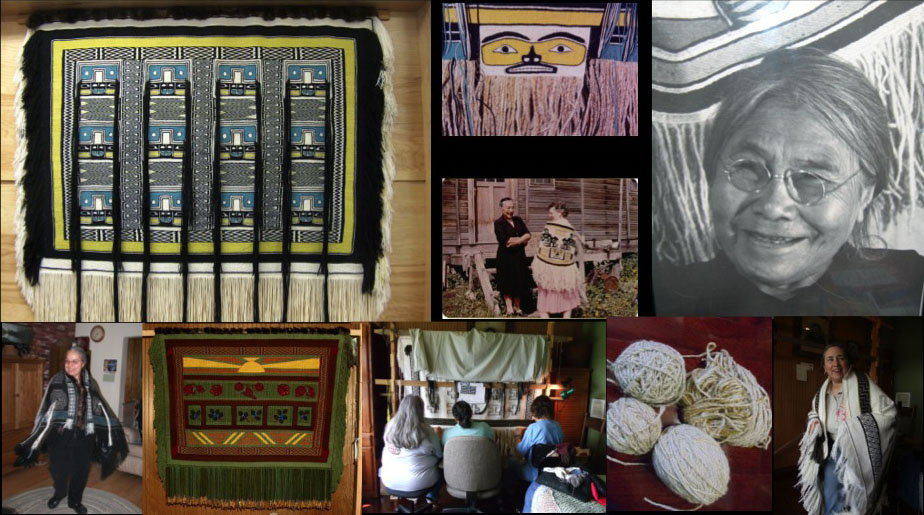 Photo of Chilkat Blankets and Weaving